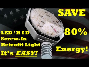 Screw-in Universal HID / Metal Halide / HPS Retrofit