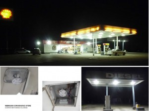 Convenience Store Exterior Lighting