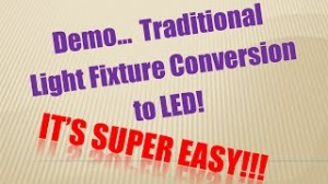 Fixture Conversion to LED Demo