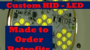 HID LED with Precision Aiming Capabilities