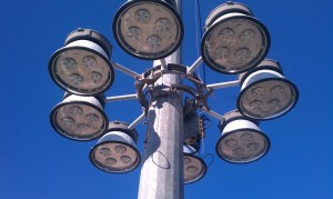 High Mast Exterior Lighting